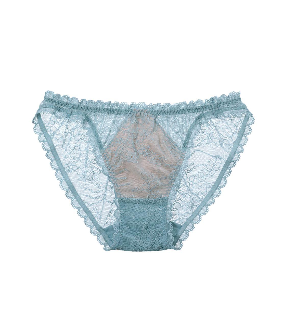 裸色系性感蕾絲三角褲