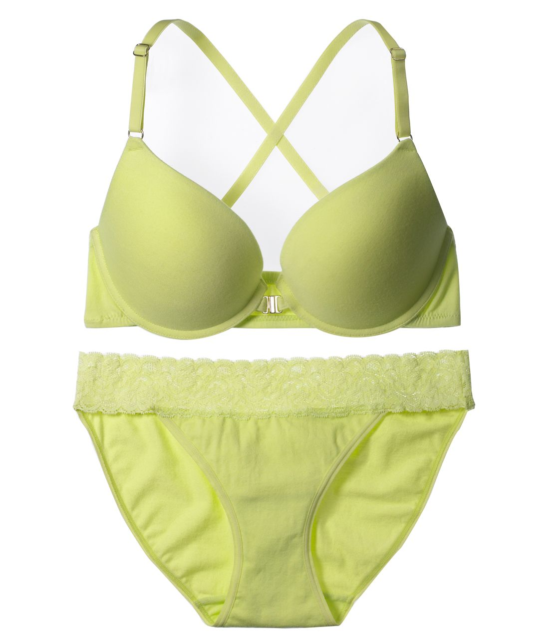 YM' Simple Racerback Bra Set (Bra and Panty)