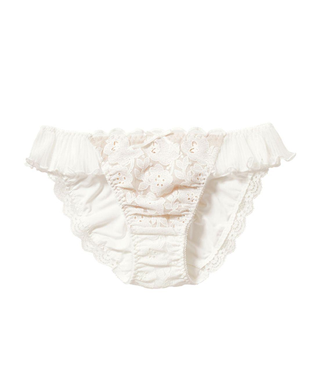 Deco Rutan Sheer pleated panty