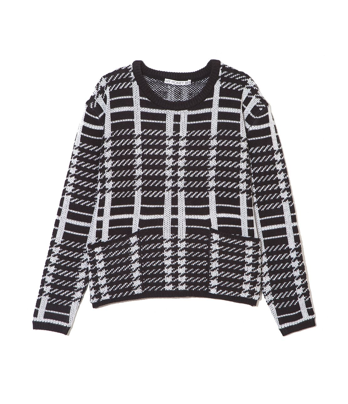 MHB big pocket knit top