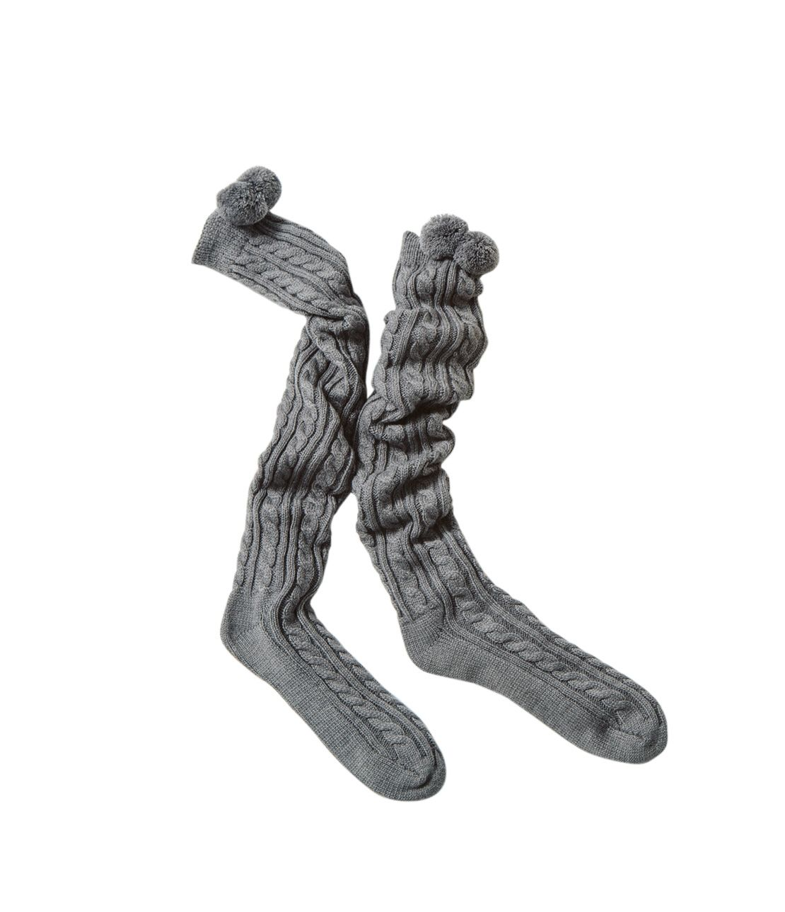 Cable nit Overney socks