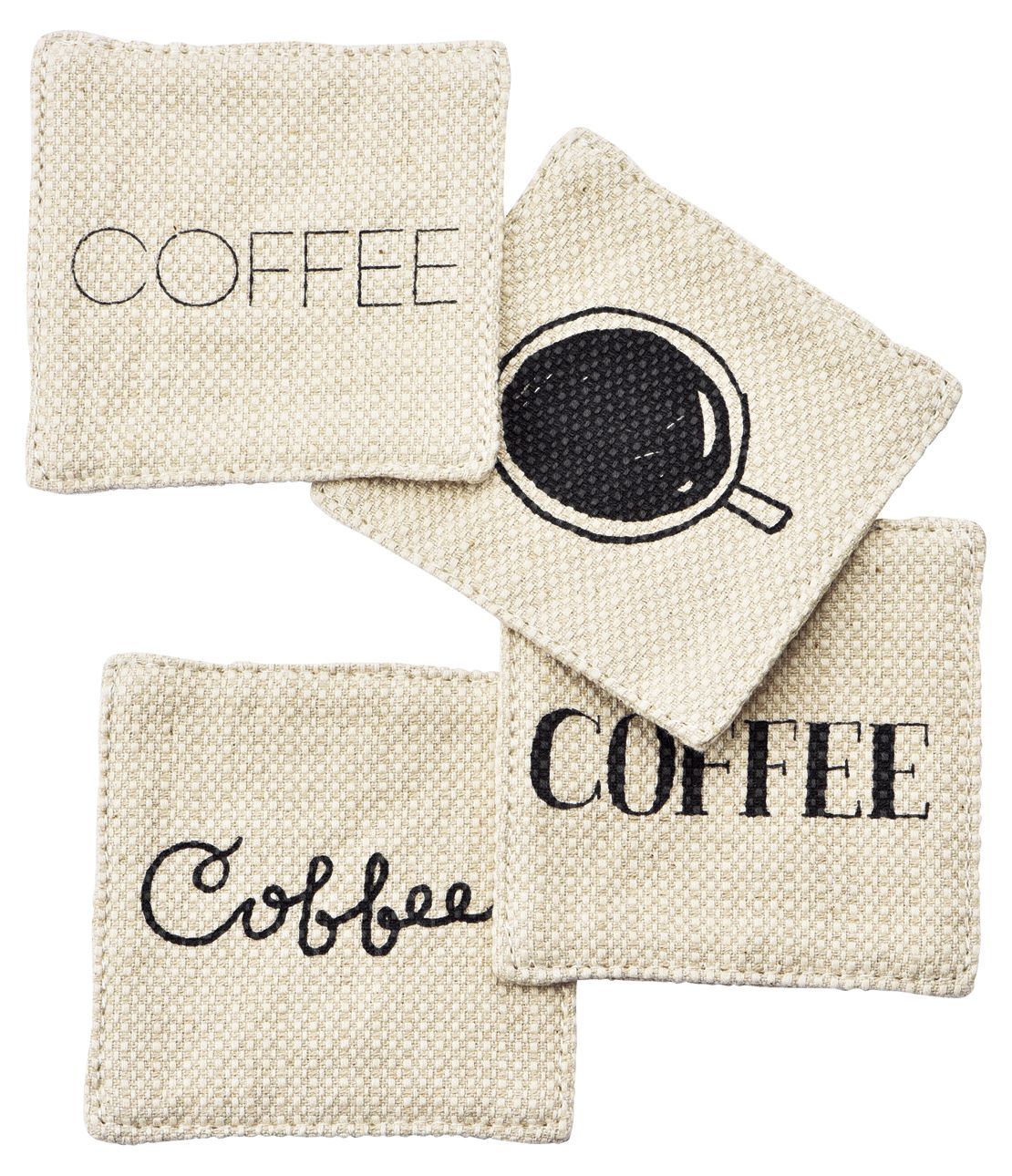 Catherine coasters (set of 4)