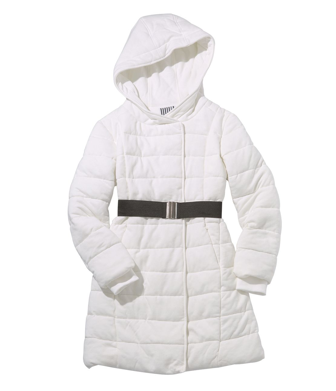 Style up stretch padding coat