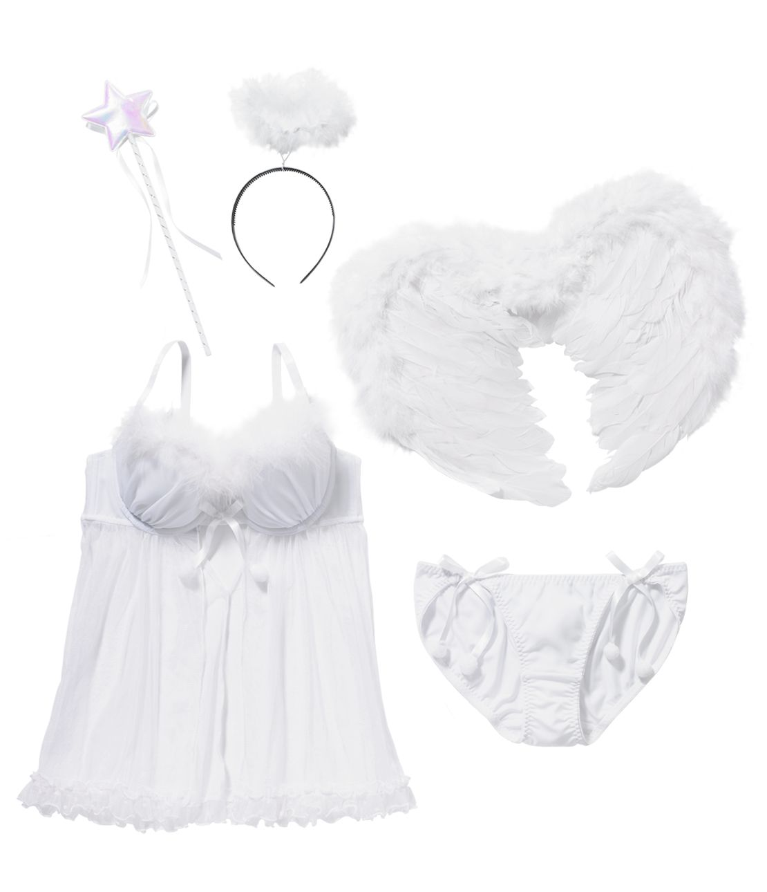 YM Angel Bra Set