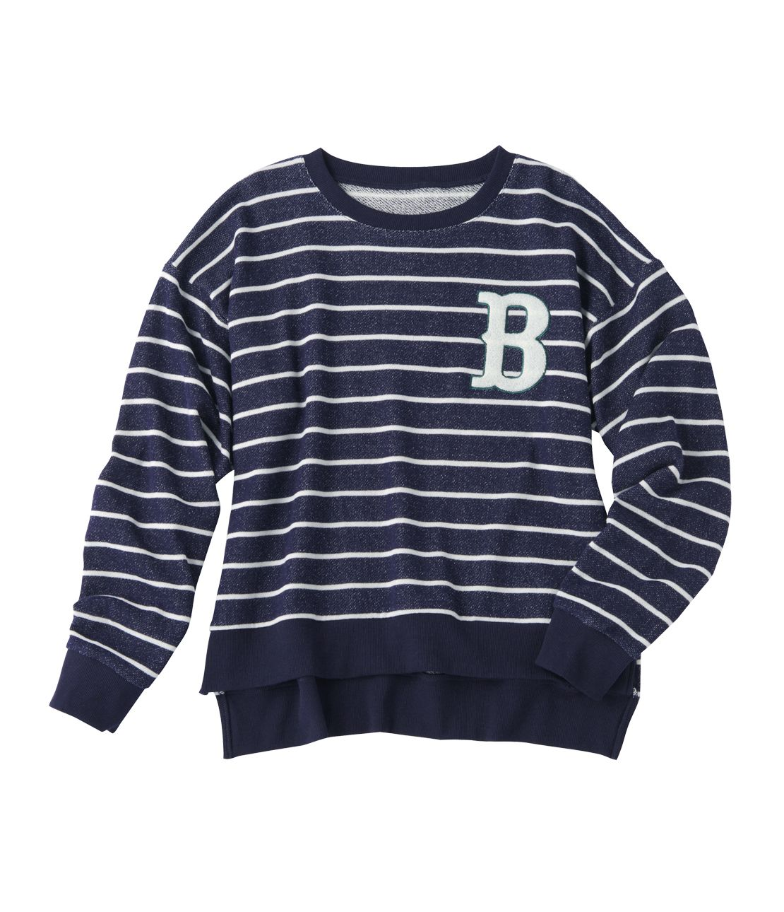 MHB border sweat top
