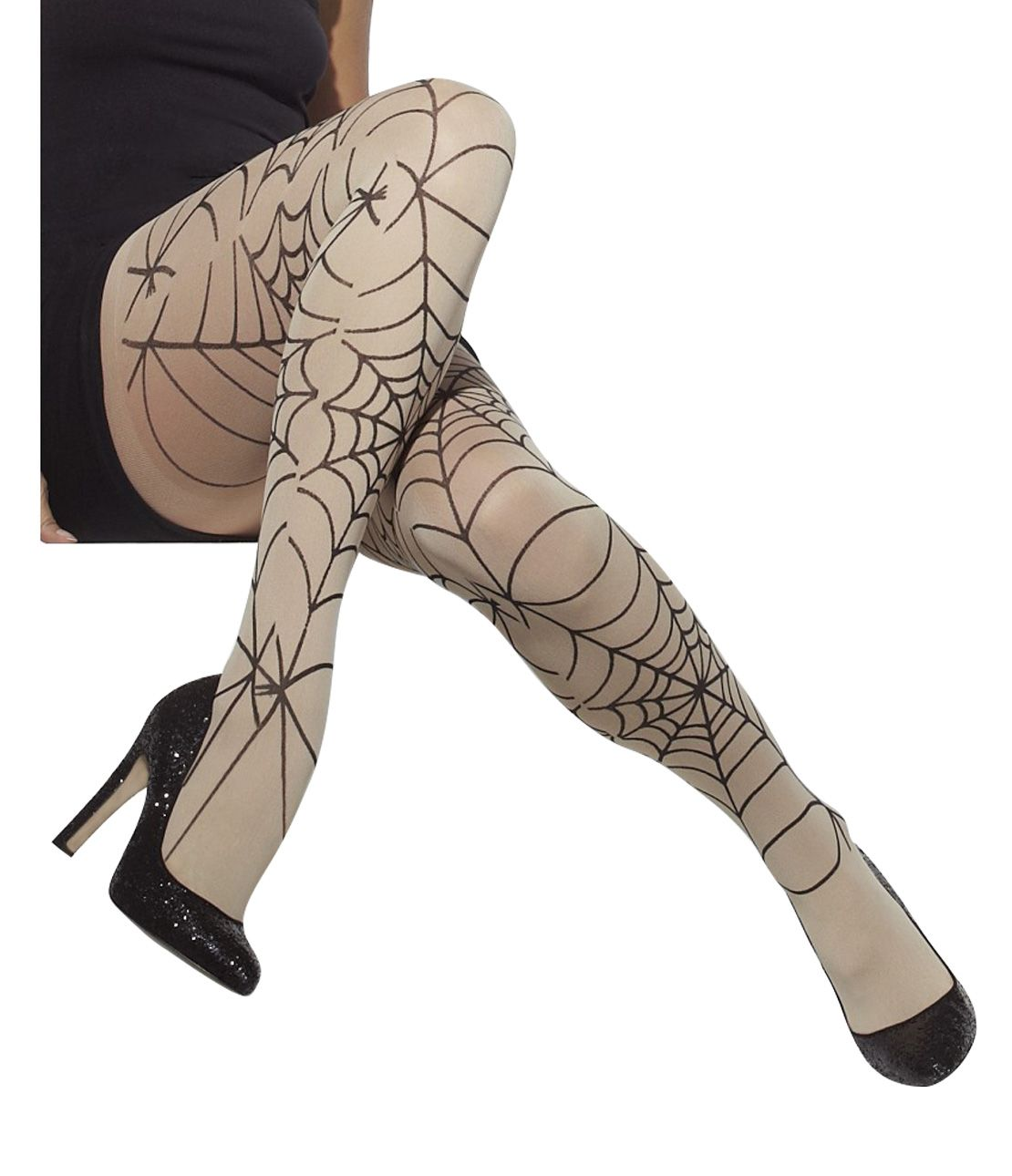 Spider's Web Tights