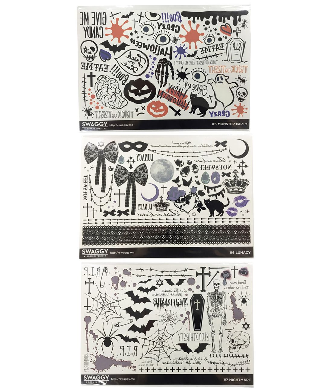 SWAGGY tattoo stickers