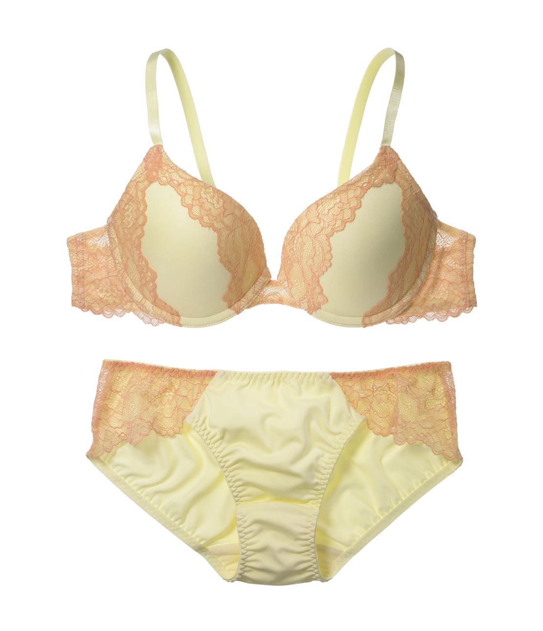 YM simple cutlets bra set