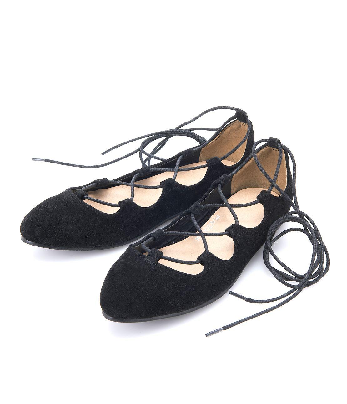 Lace Up Ballet Shoes