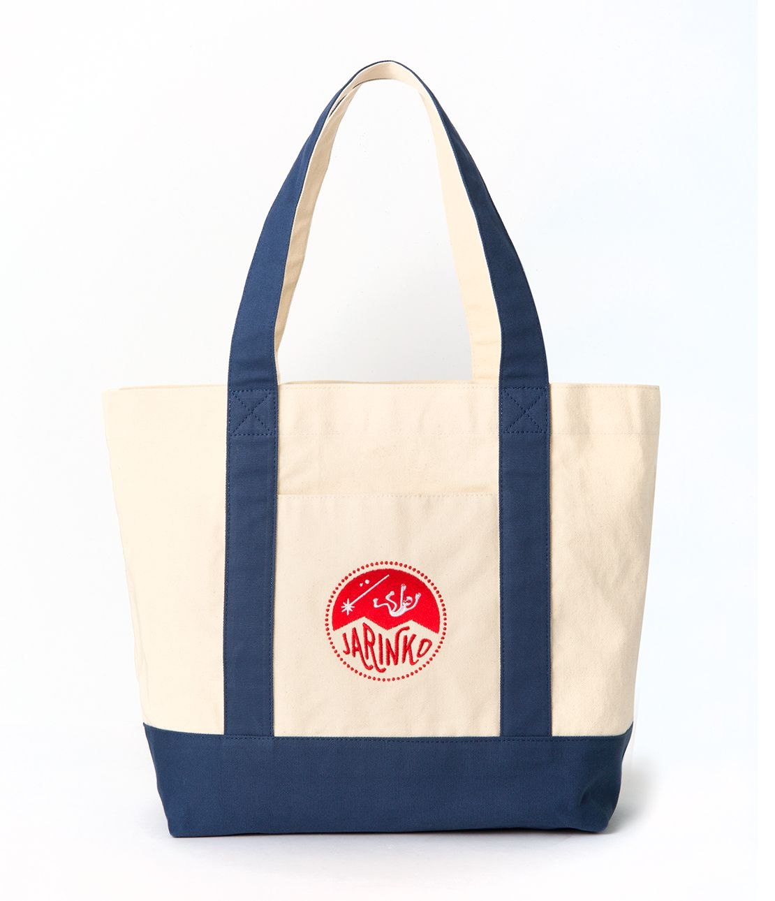 JRK embroidery canvass that bag