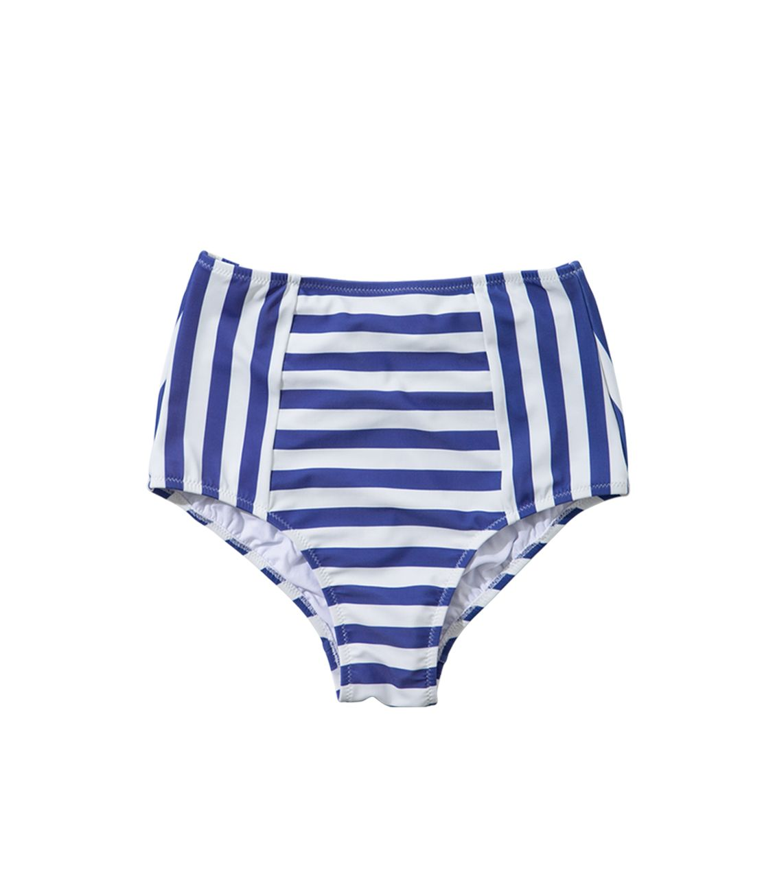 High Waist Swim Bikini Bottom