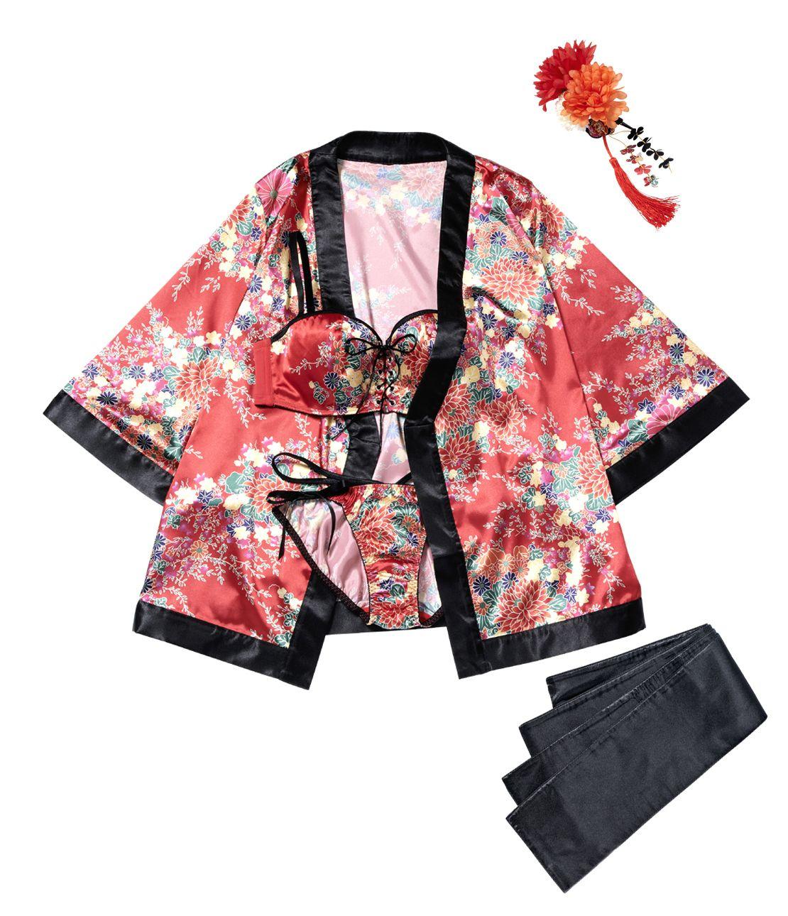YM Kimono Bra Set