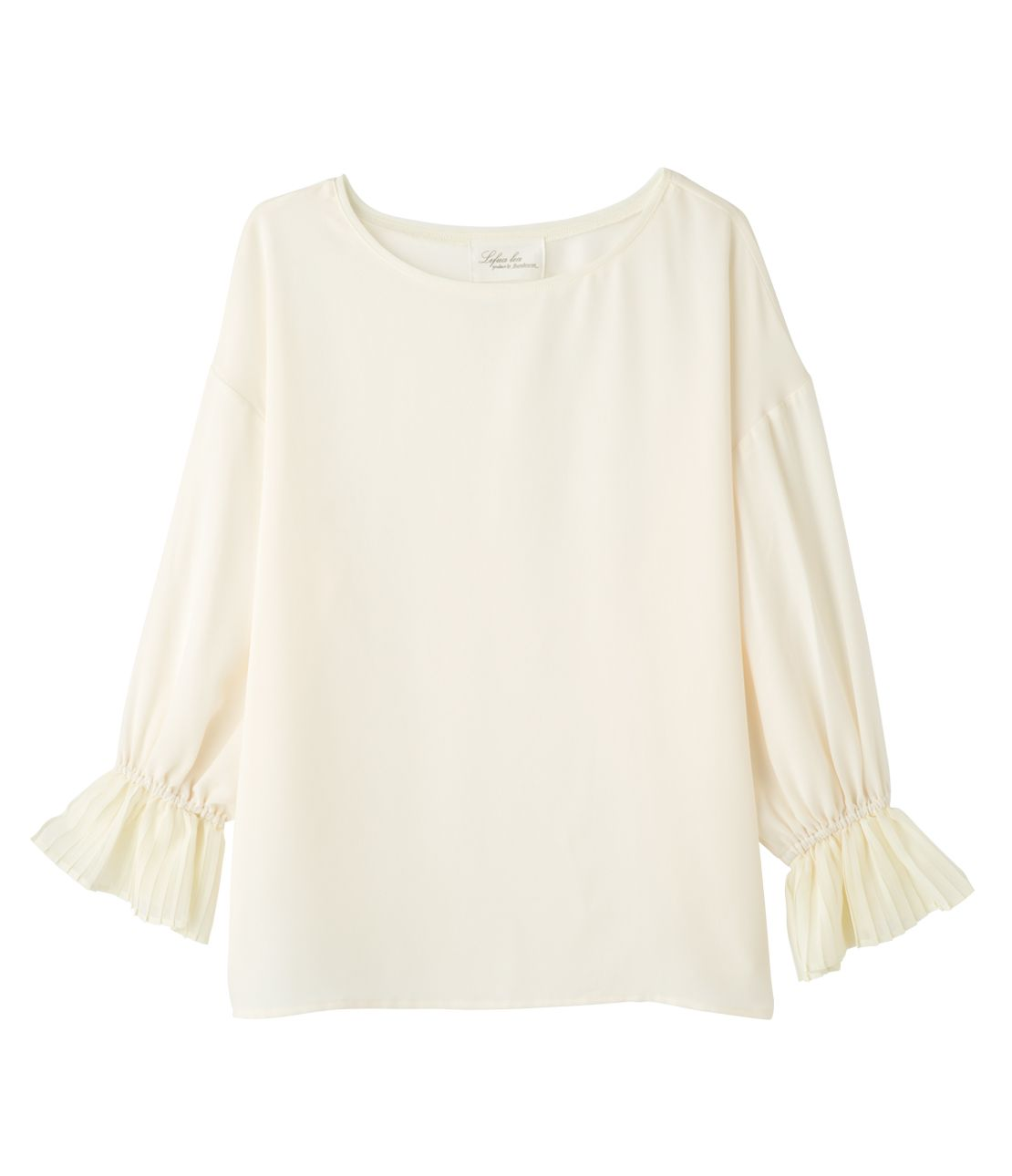 Von plates sleeves blouse