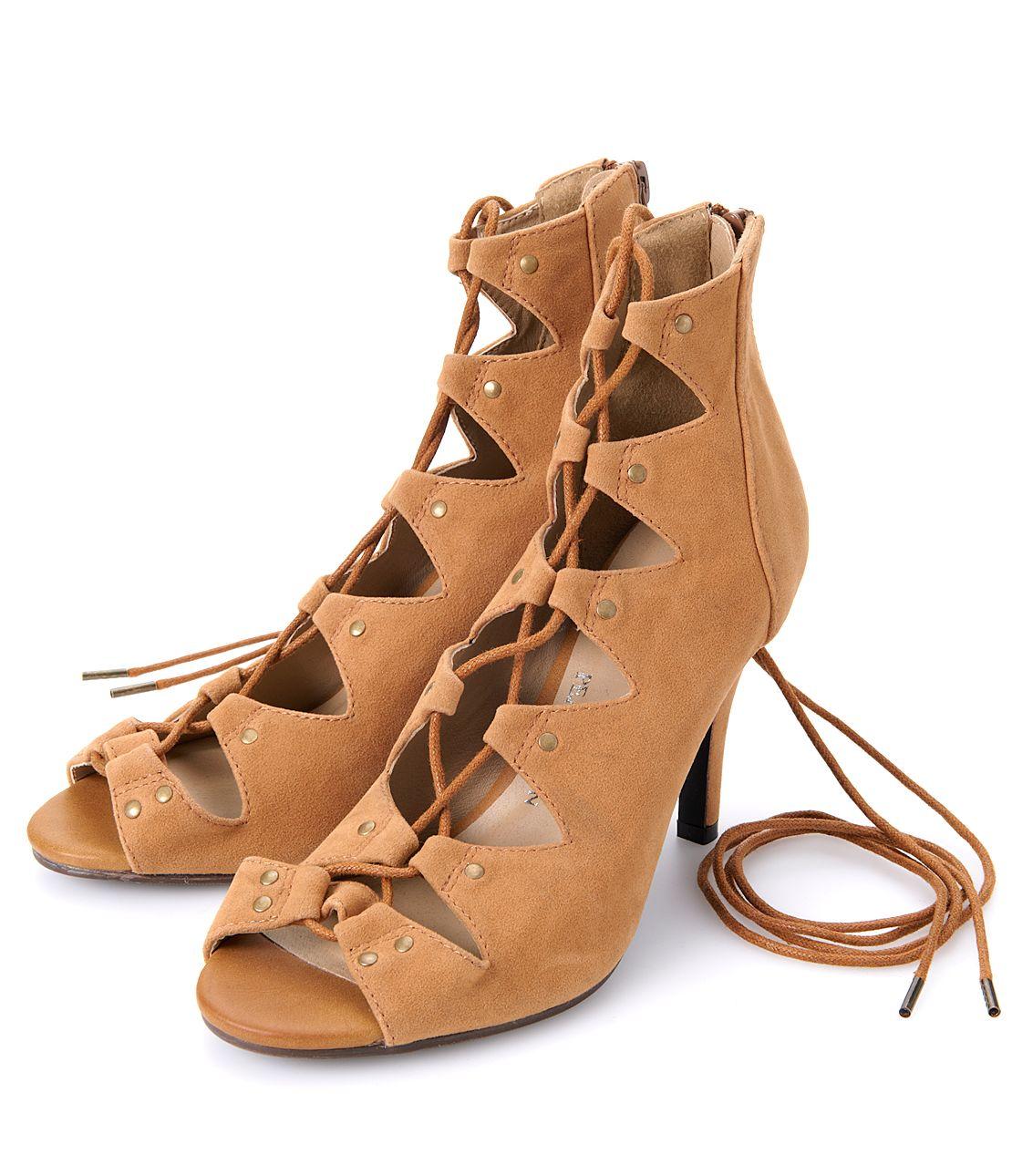 國家 laceupheel 涼鞋