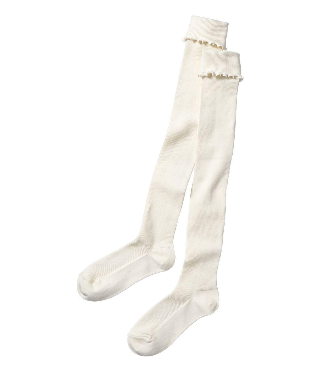 Rib Knee High Socks
