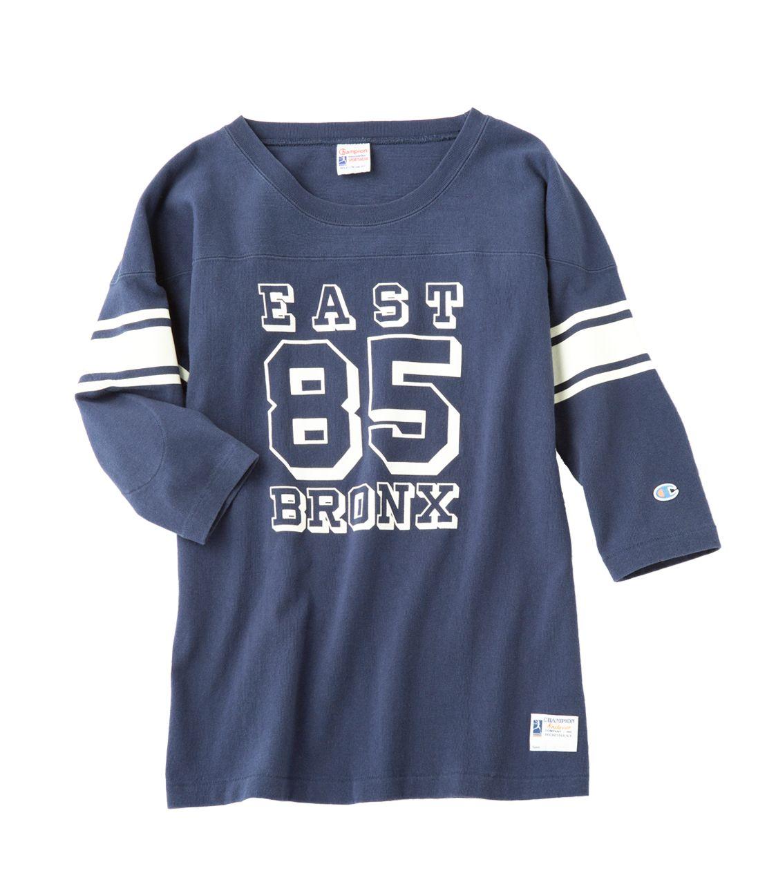 3 / 4 sleeve football t-shirt