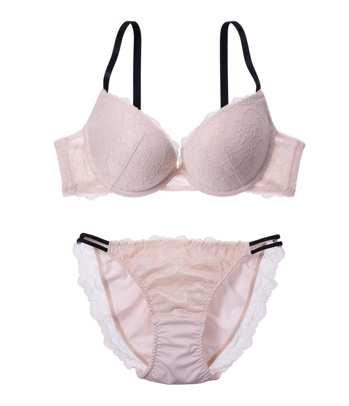 YM NEW simple lace bra set