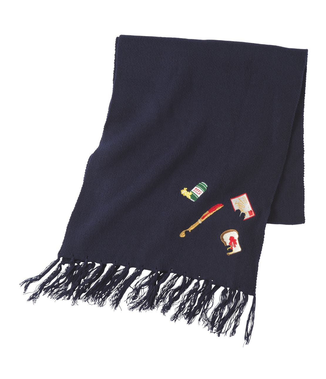 JRK embroidery scarf