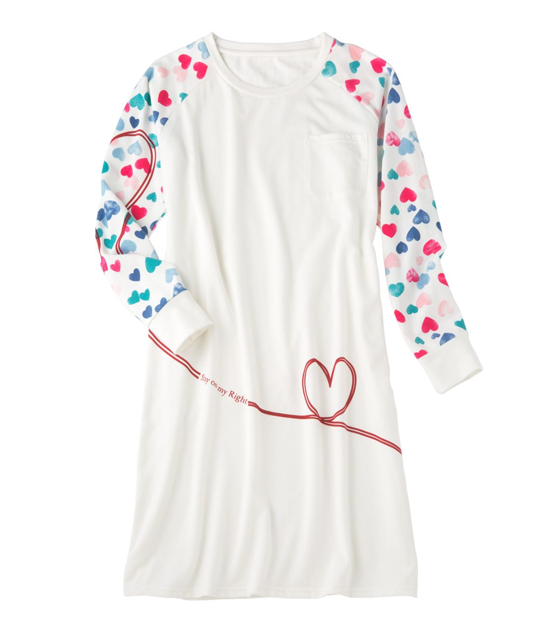 Relax neck point pajamas