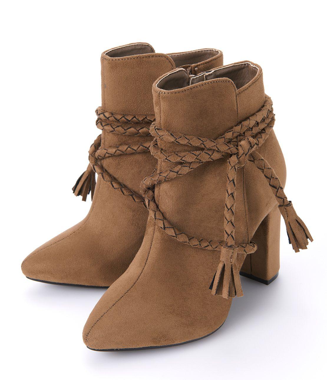 Fringe belt boots