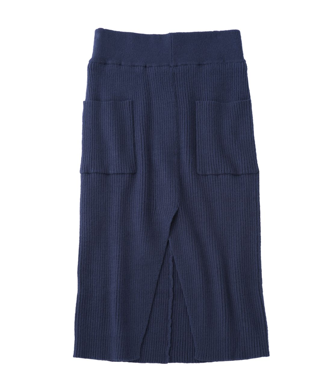 寬羅紋針織裙Mimore