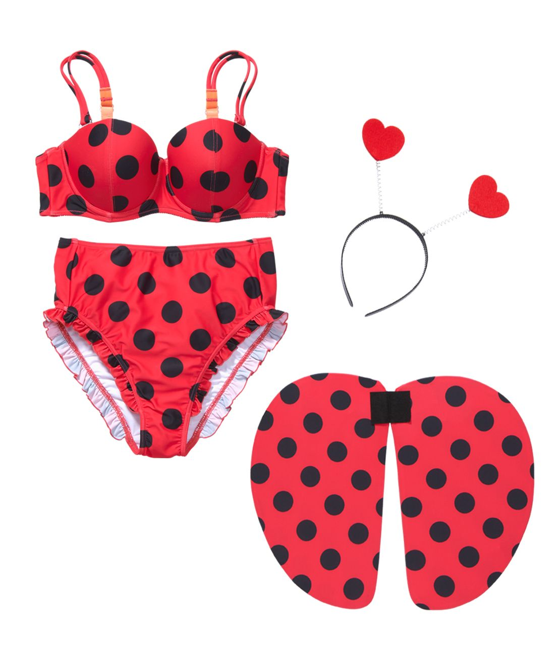 YM Ladybird Swimwear Set