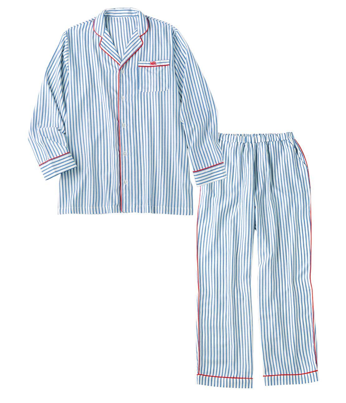 メンズシャツパジャマ