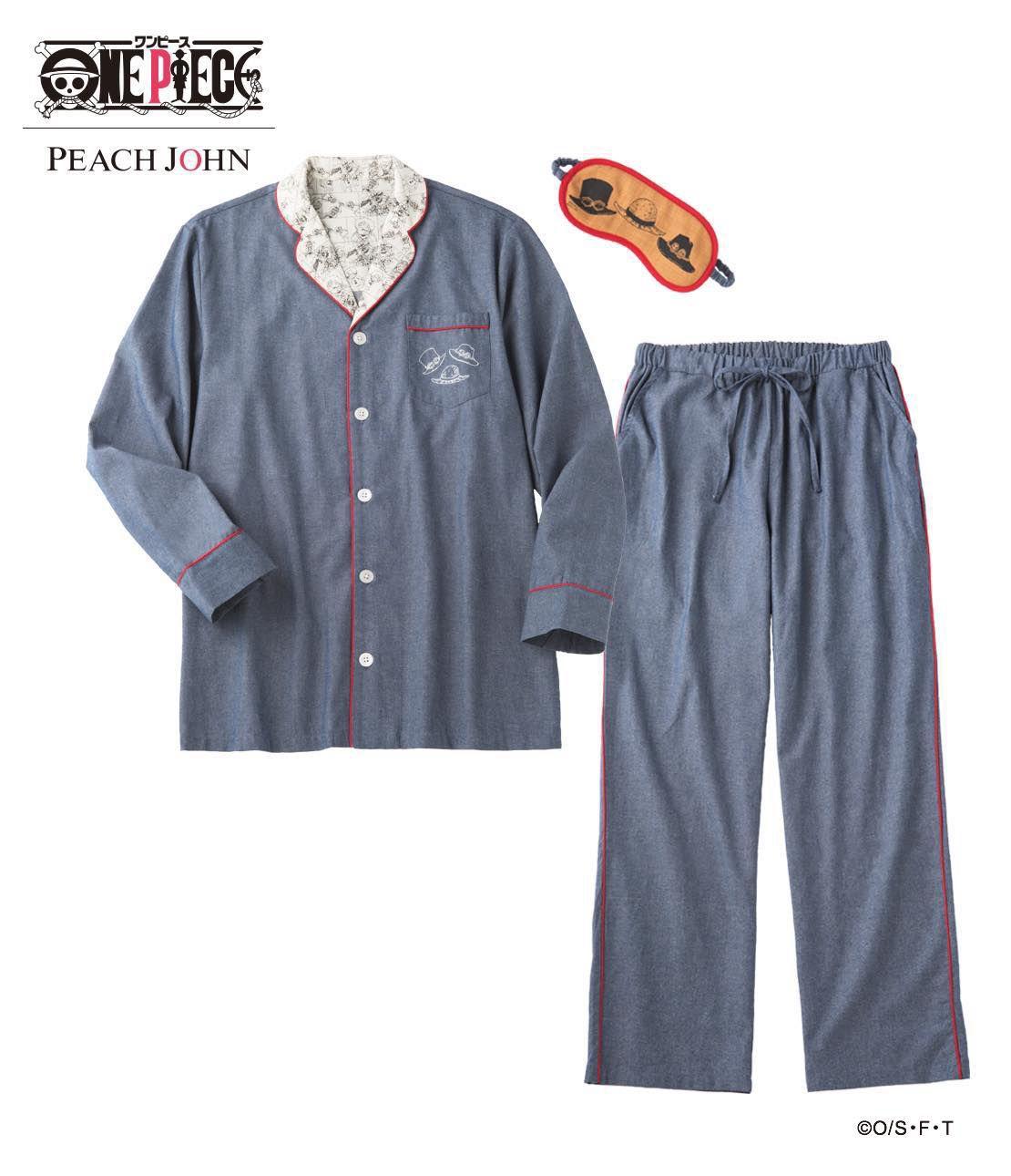 ONE PIECE LUFFY & LAW Unisex Shirt Pajama Set