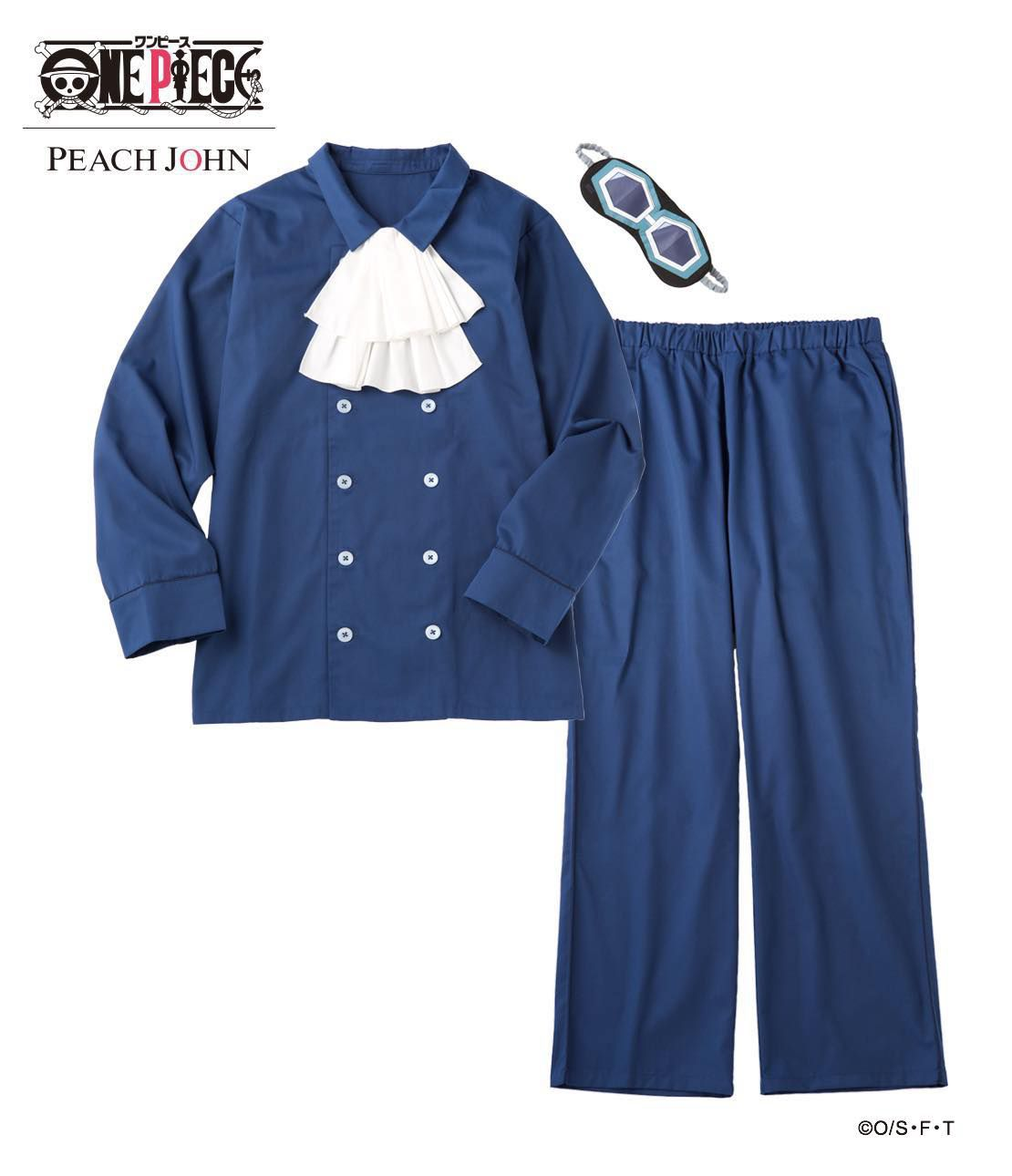 ONE PIECE SABO Unisex Shirt Pajama Set