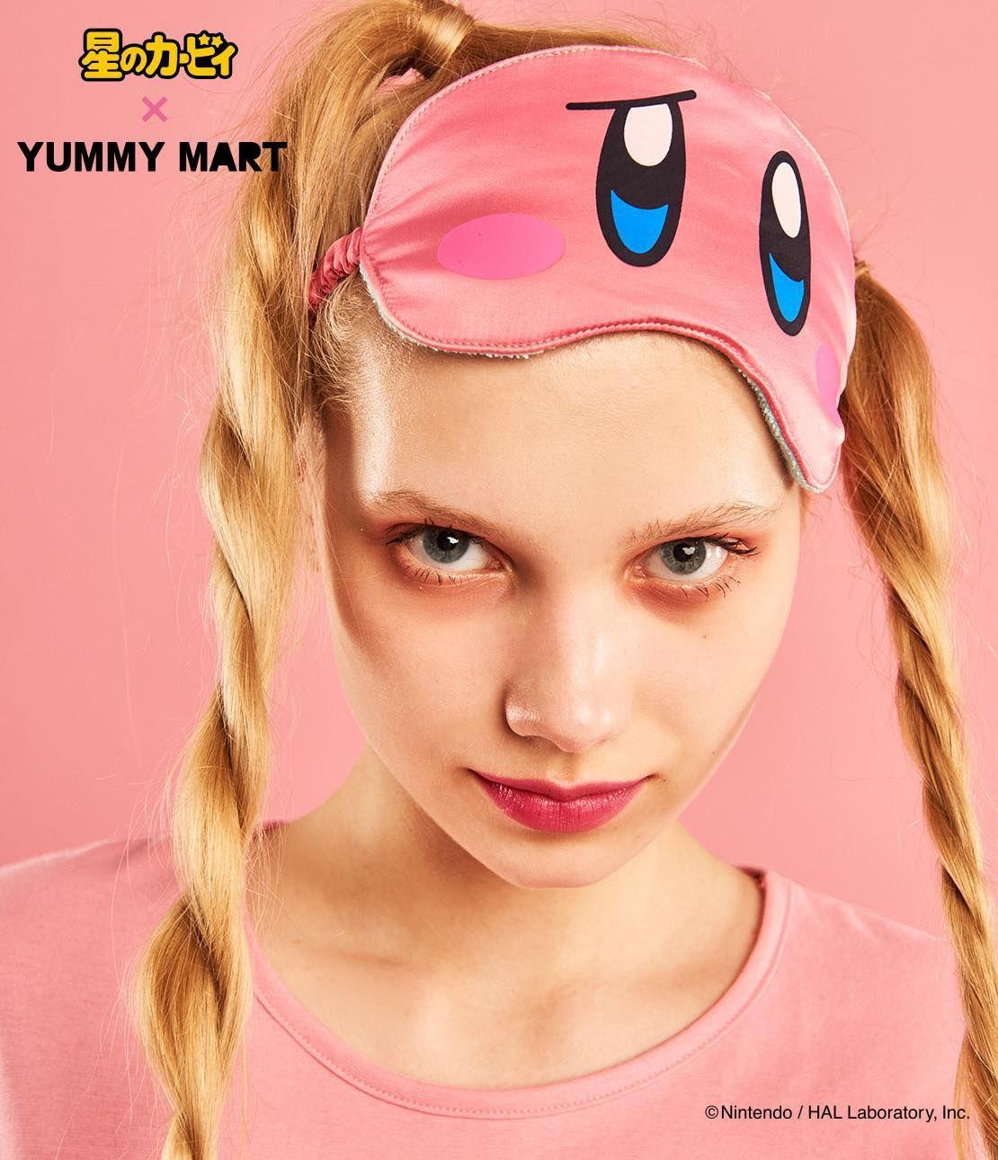 YM Kirby Eye Mask kirby