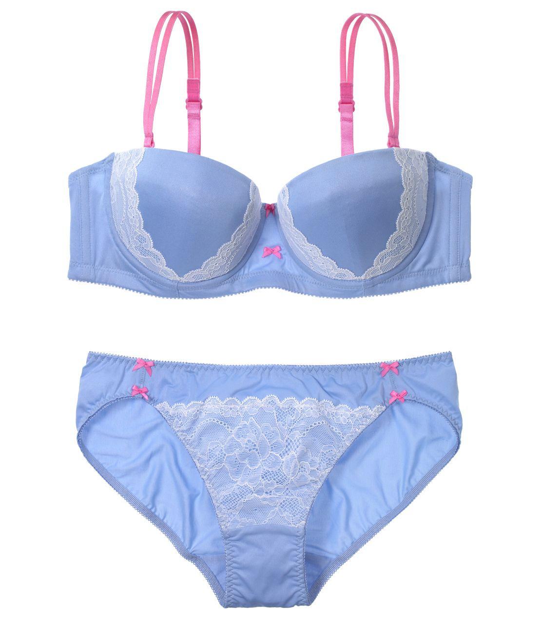 YM Strapless set