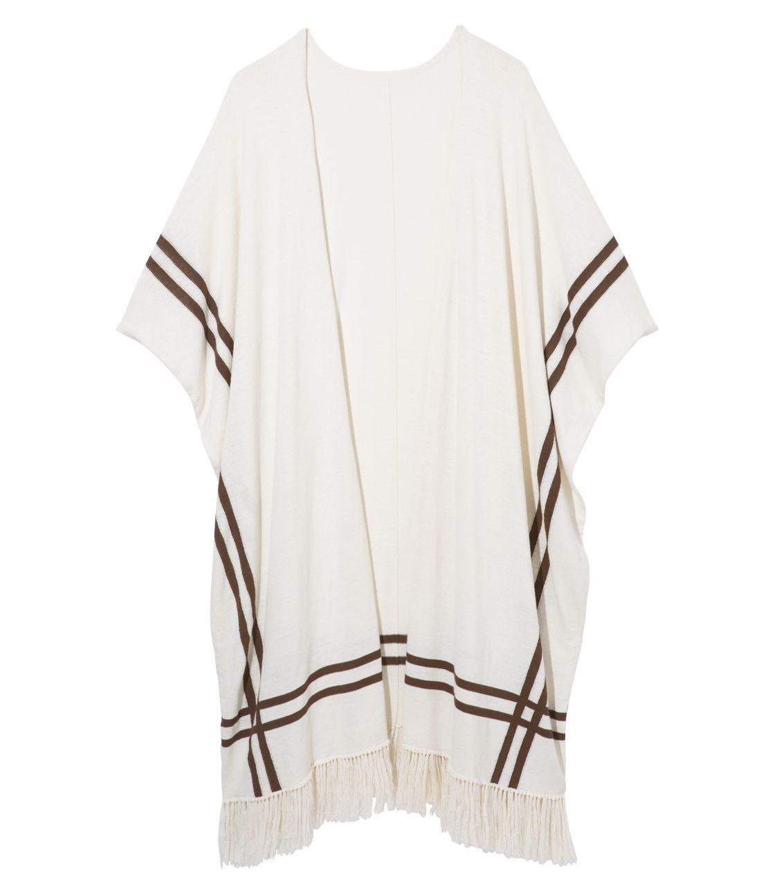 UV cut long knit cardigan