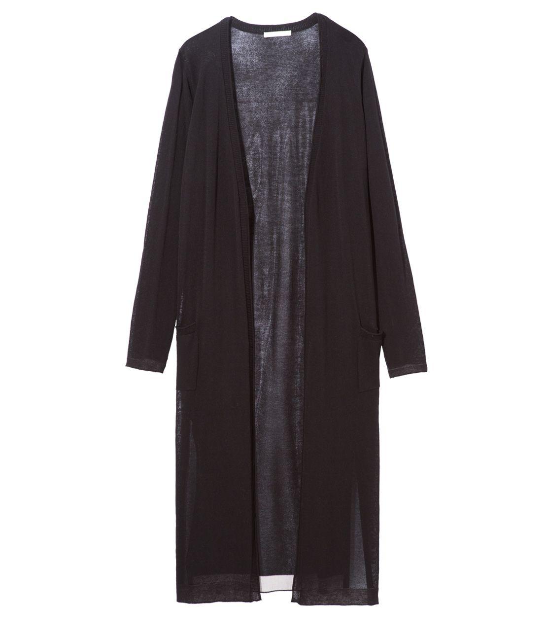 Summer knit long cardigan