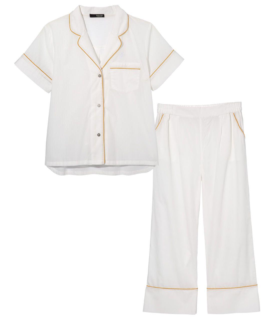 Ice Cotton (R) short-sleeved shirt pajamas