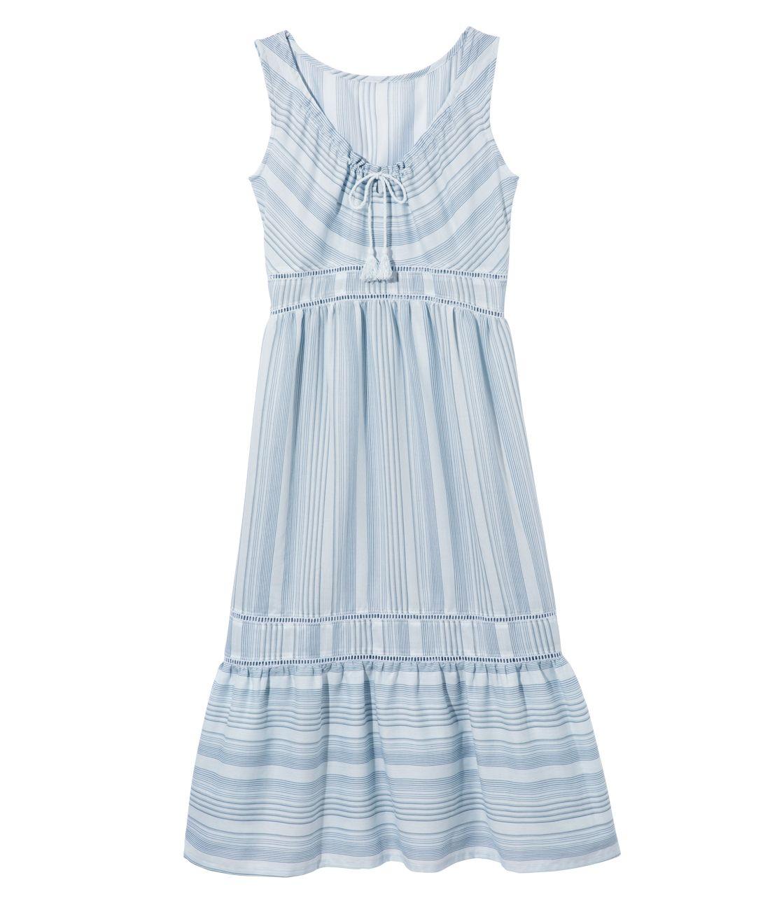Irregular border Midi dress