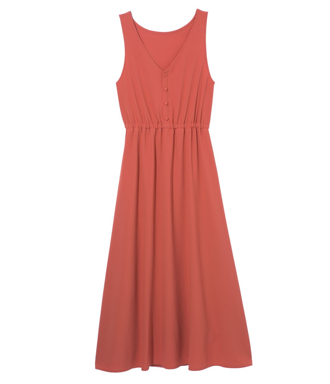 2WAY sleeveless long dress