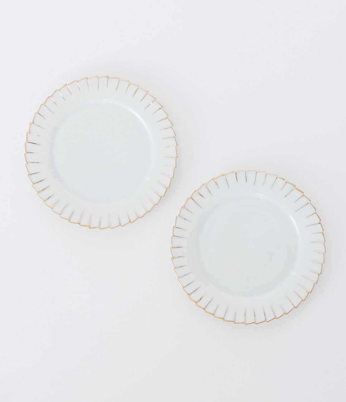 Pleating plates (2 Disc)