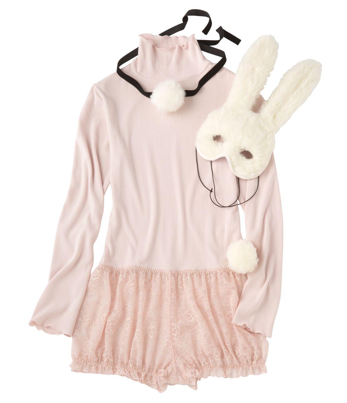 YM My bunny body set