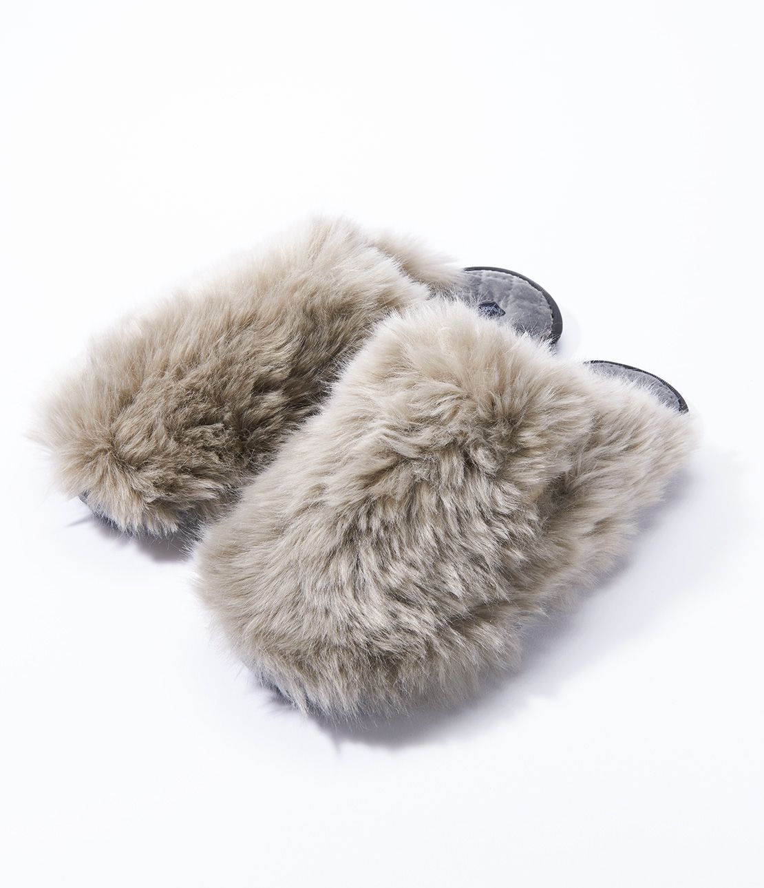 Eco fur Room Shoes