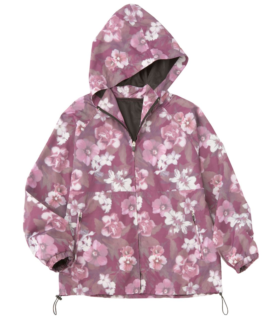 Flower Zip Hoody