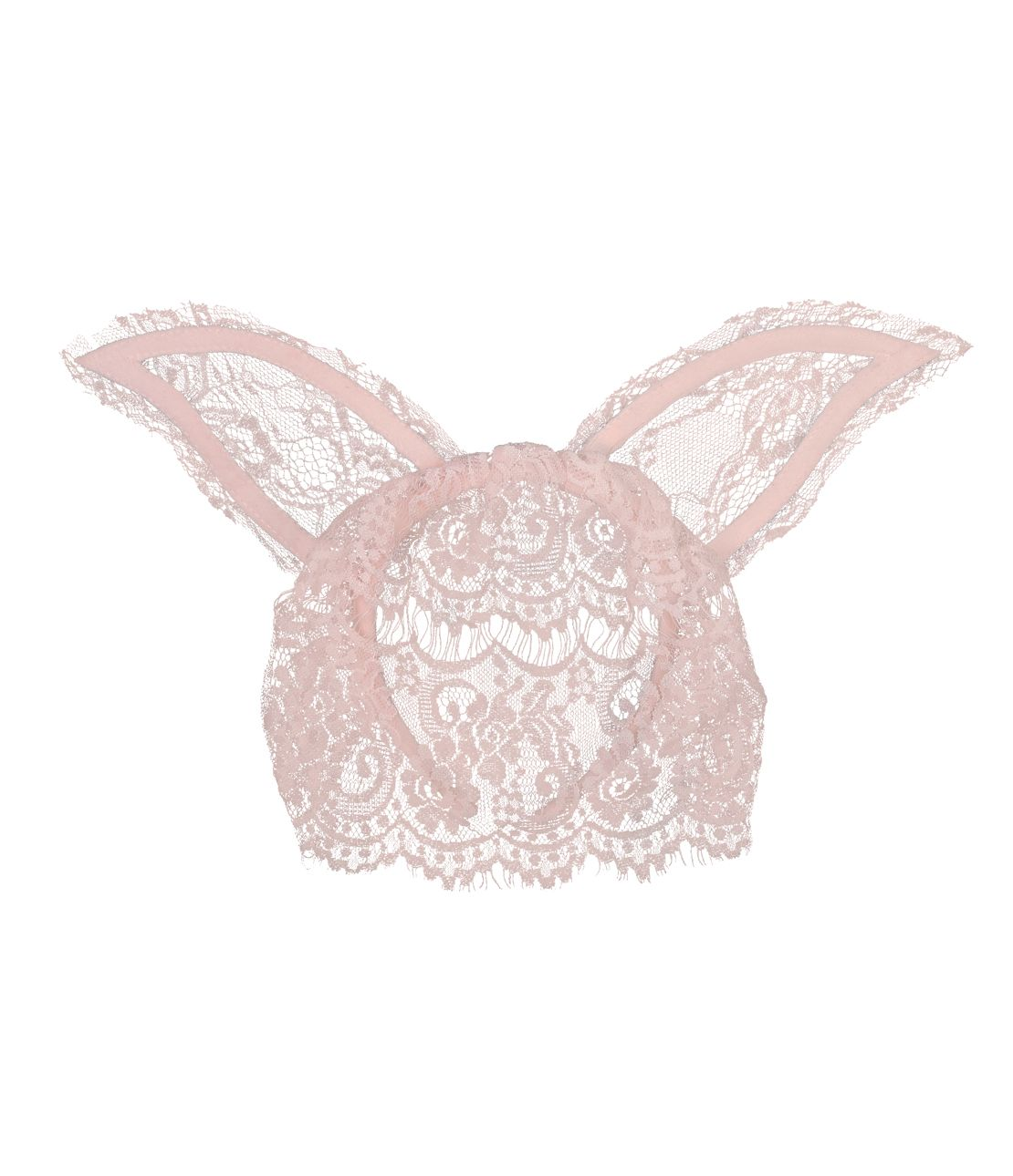 Rabbit veil headband