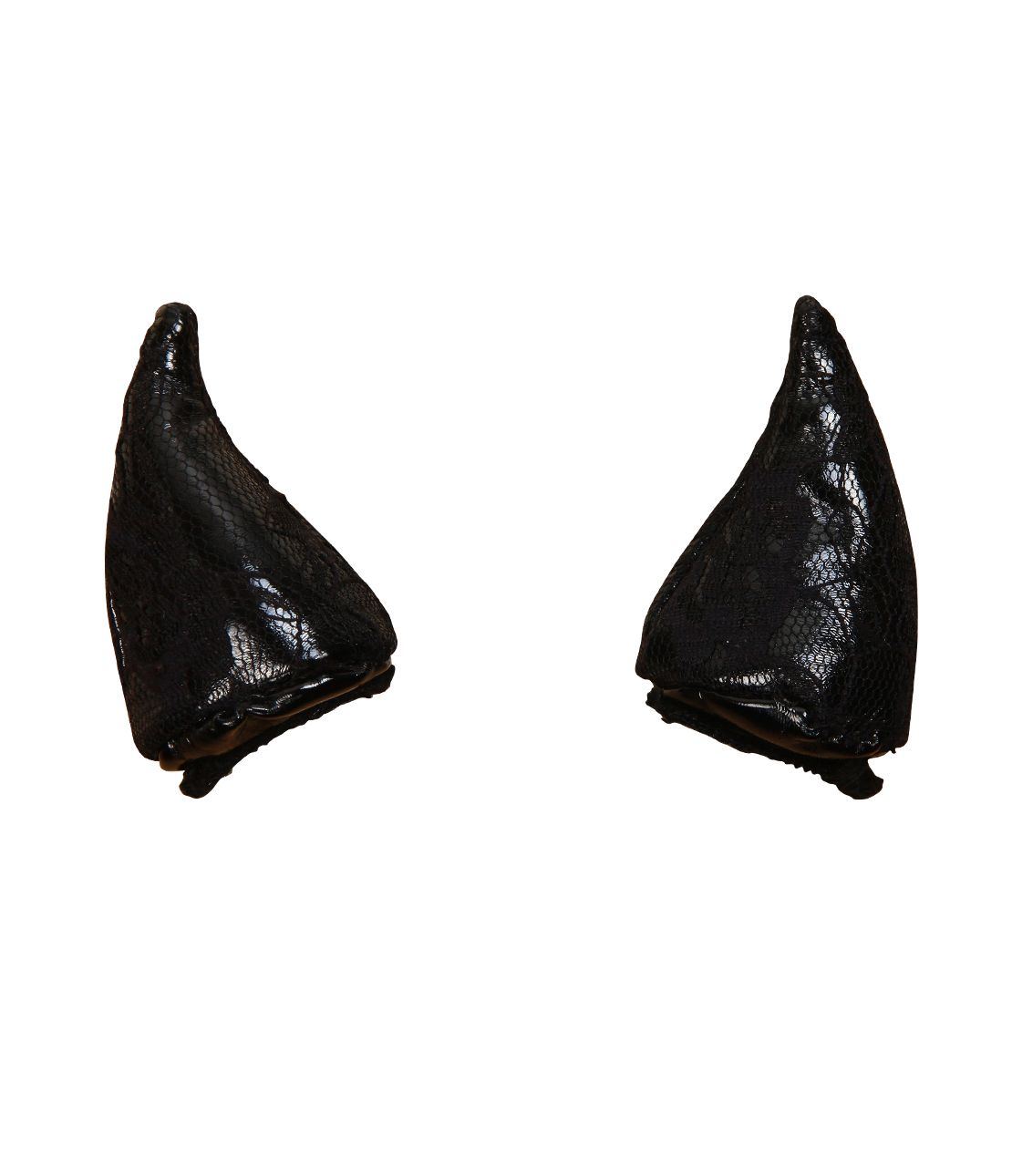 Leh Consequences Devil horn hair clip (set of two)