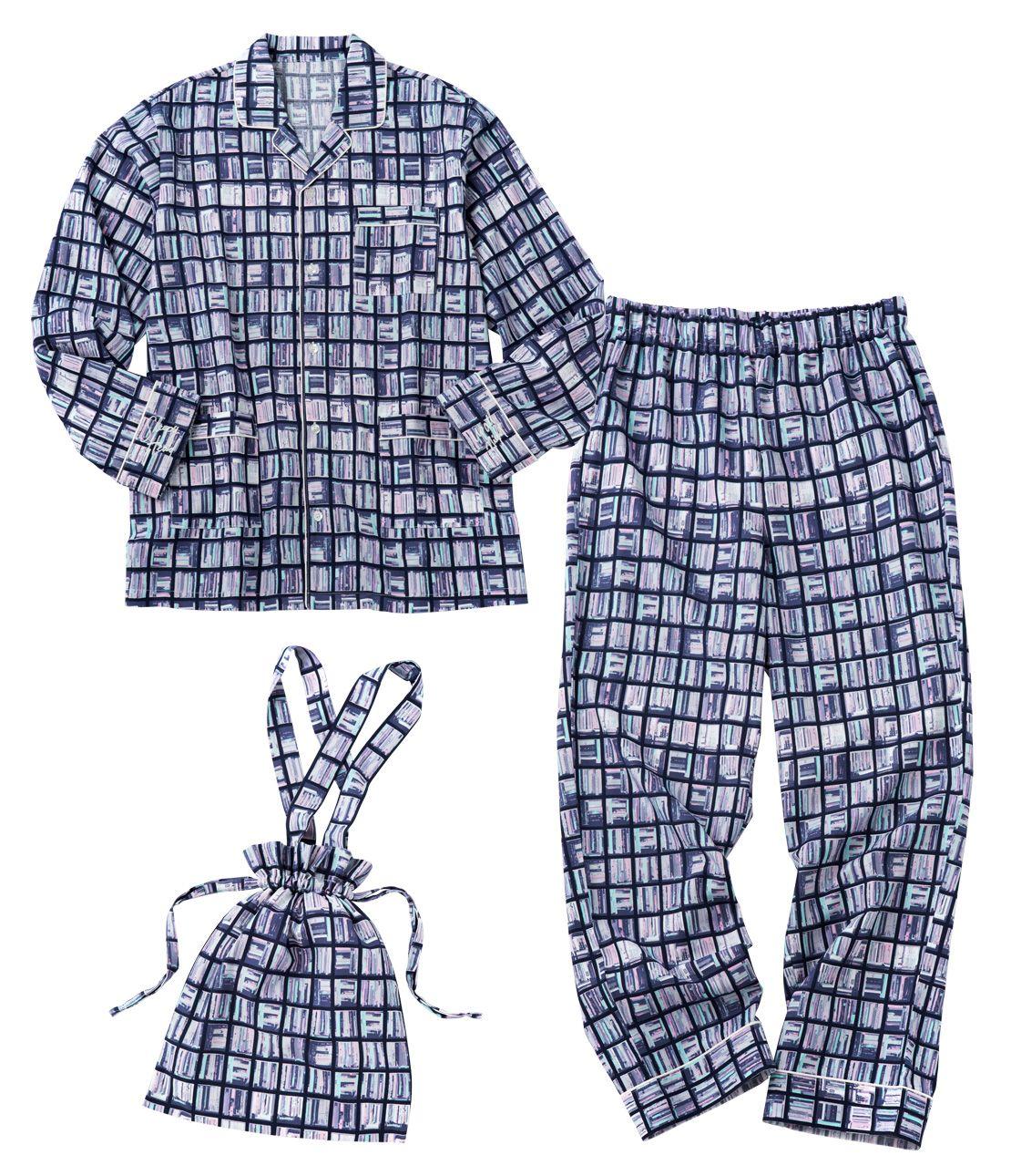 Men's message shirt pajamas set