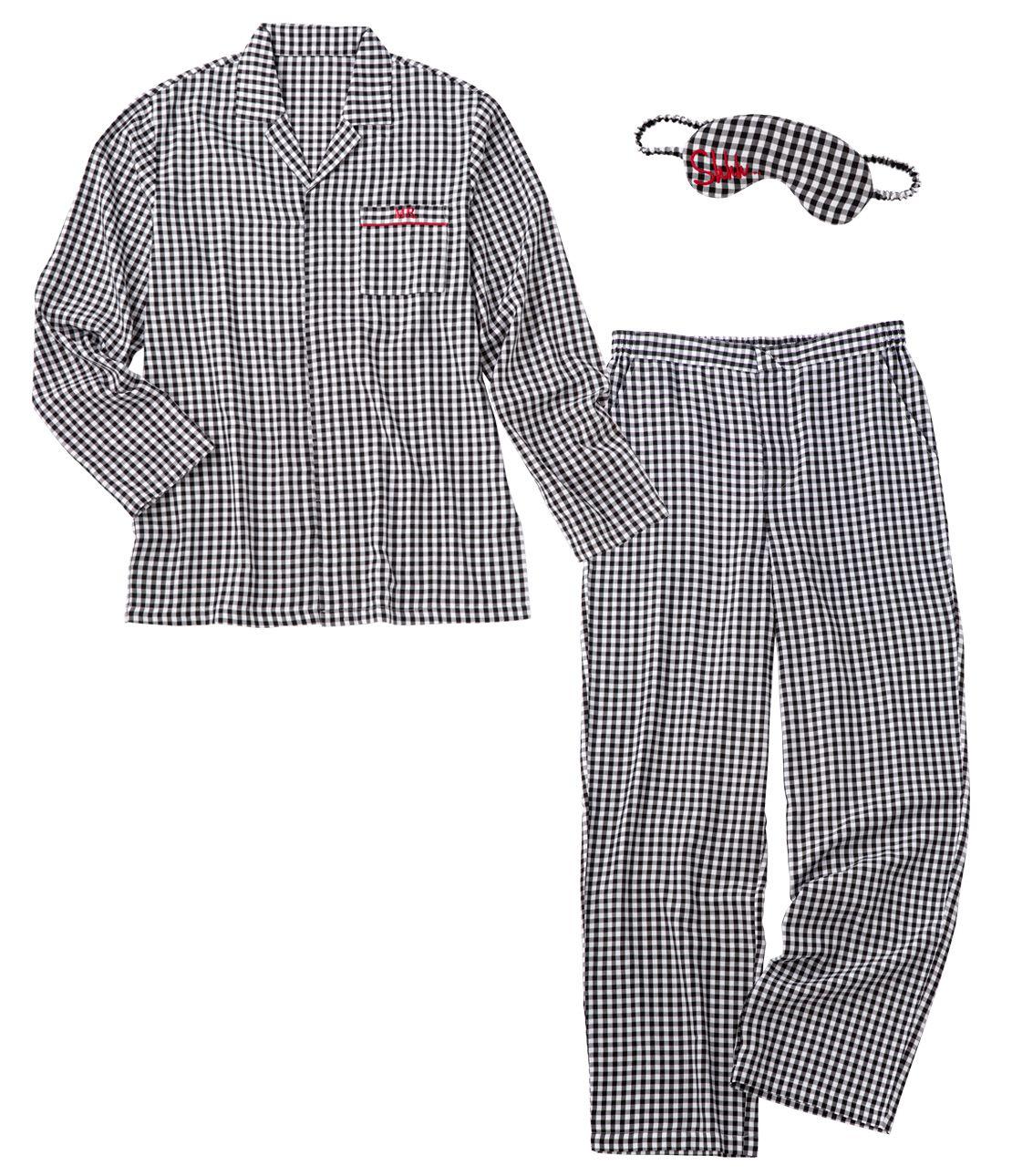 Men's shirt pajamas set
