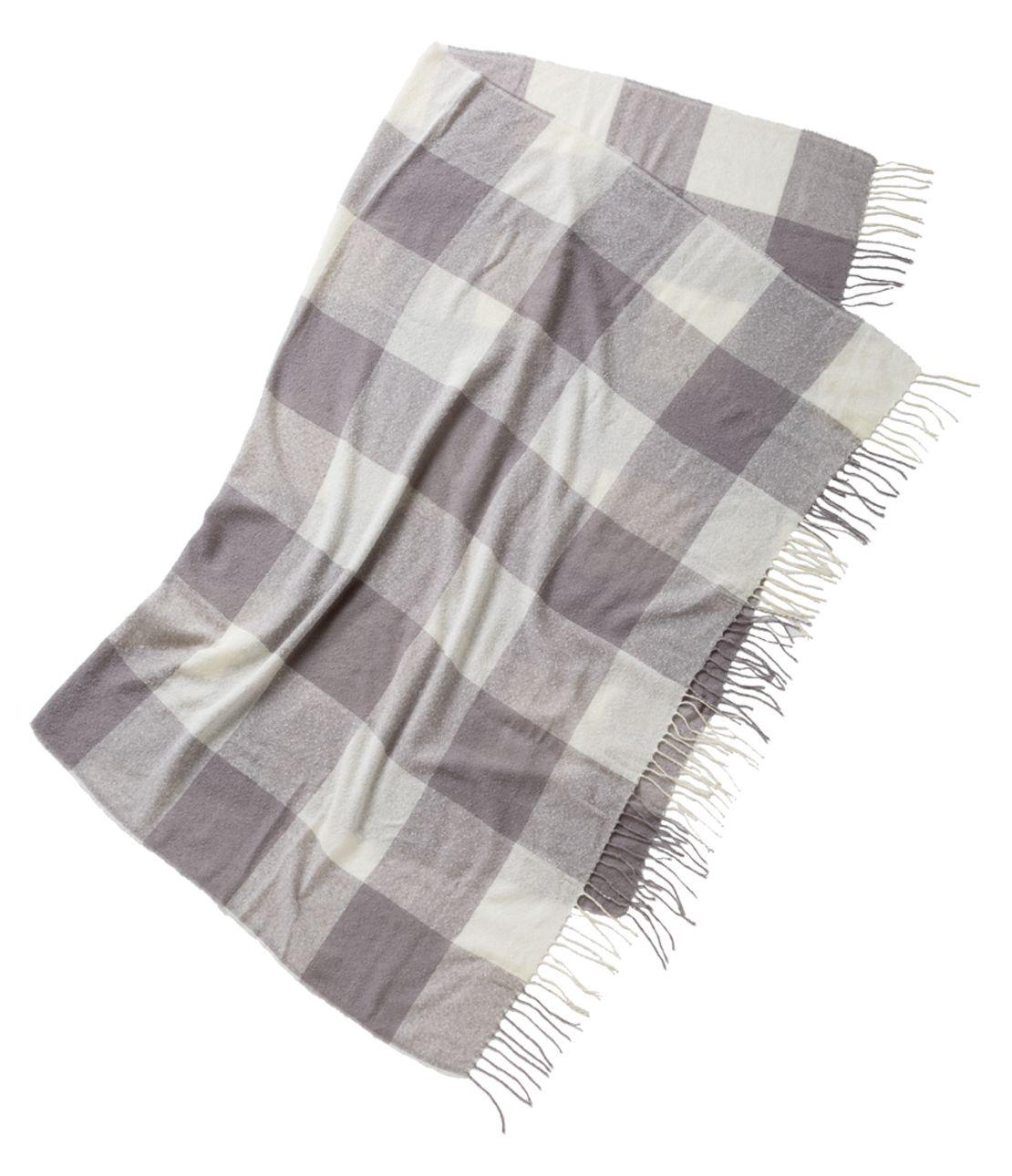 Check pattern blanket