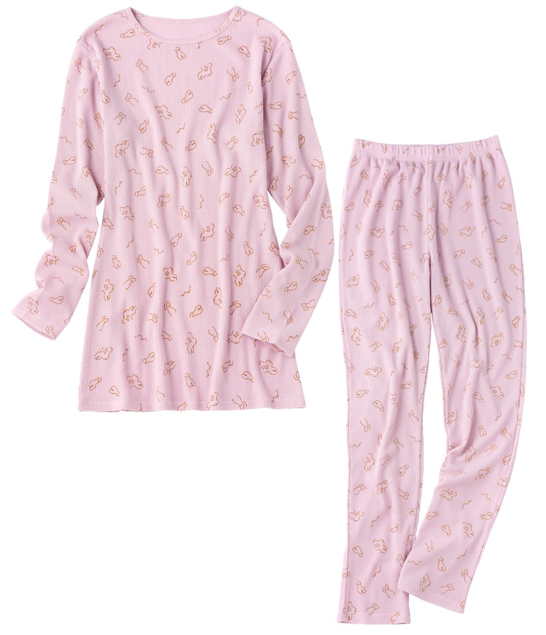 YM thermal print pajamas