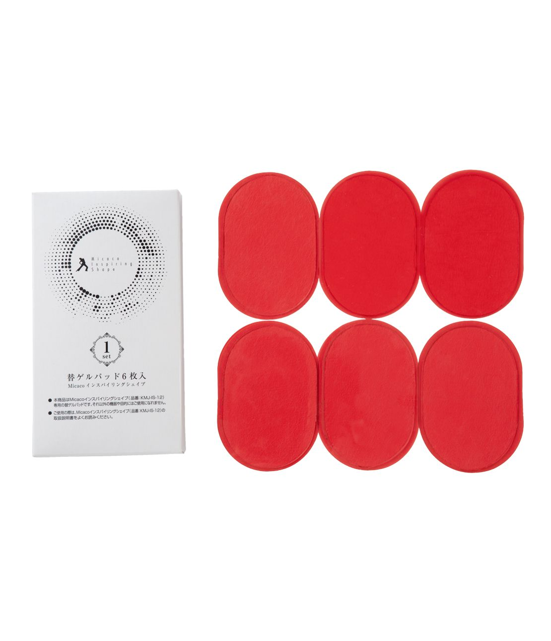Micaco replacement gel pad (6 Disc)