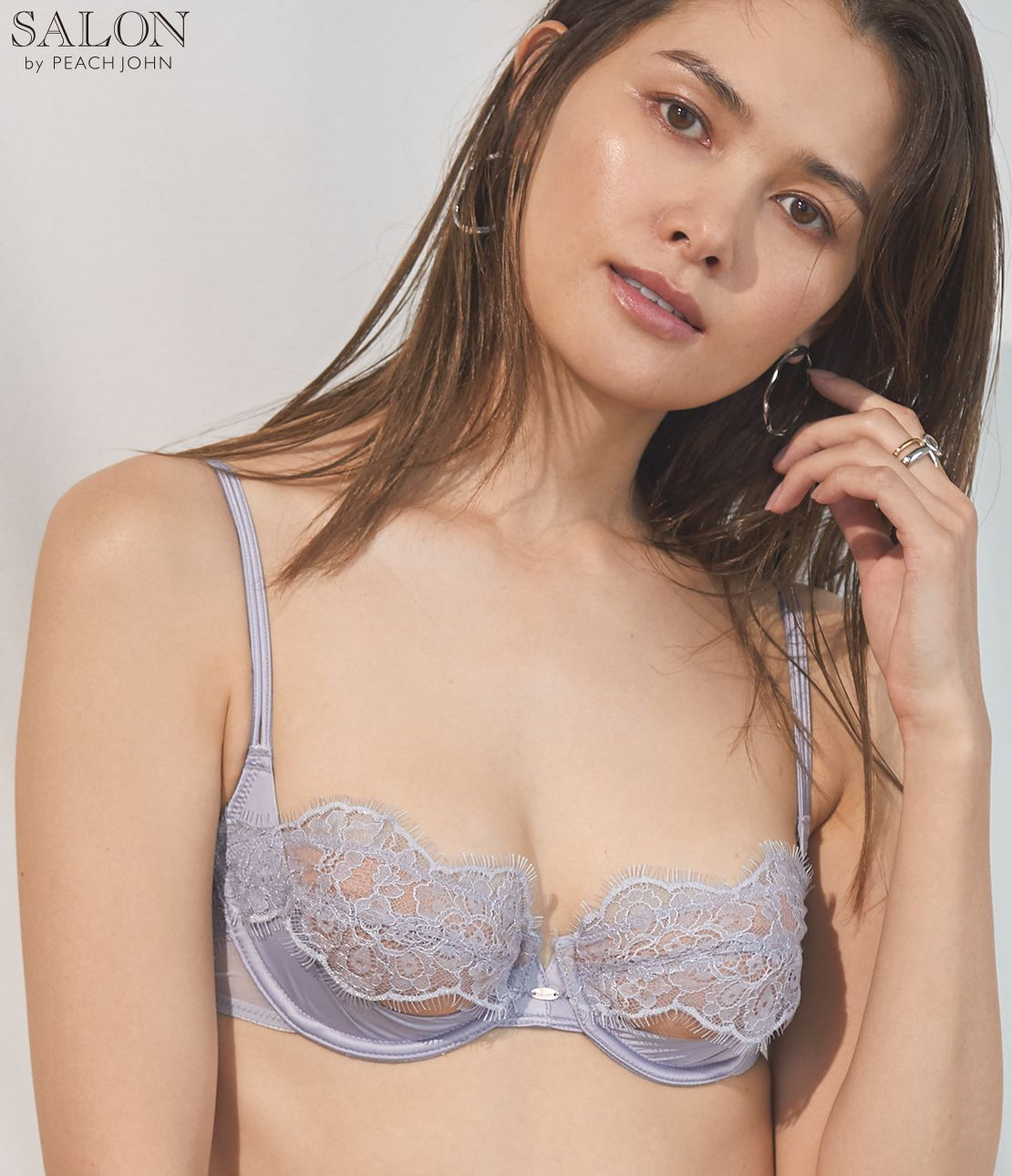 Sheer decoration bra