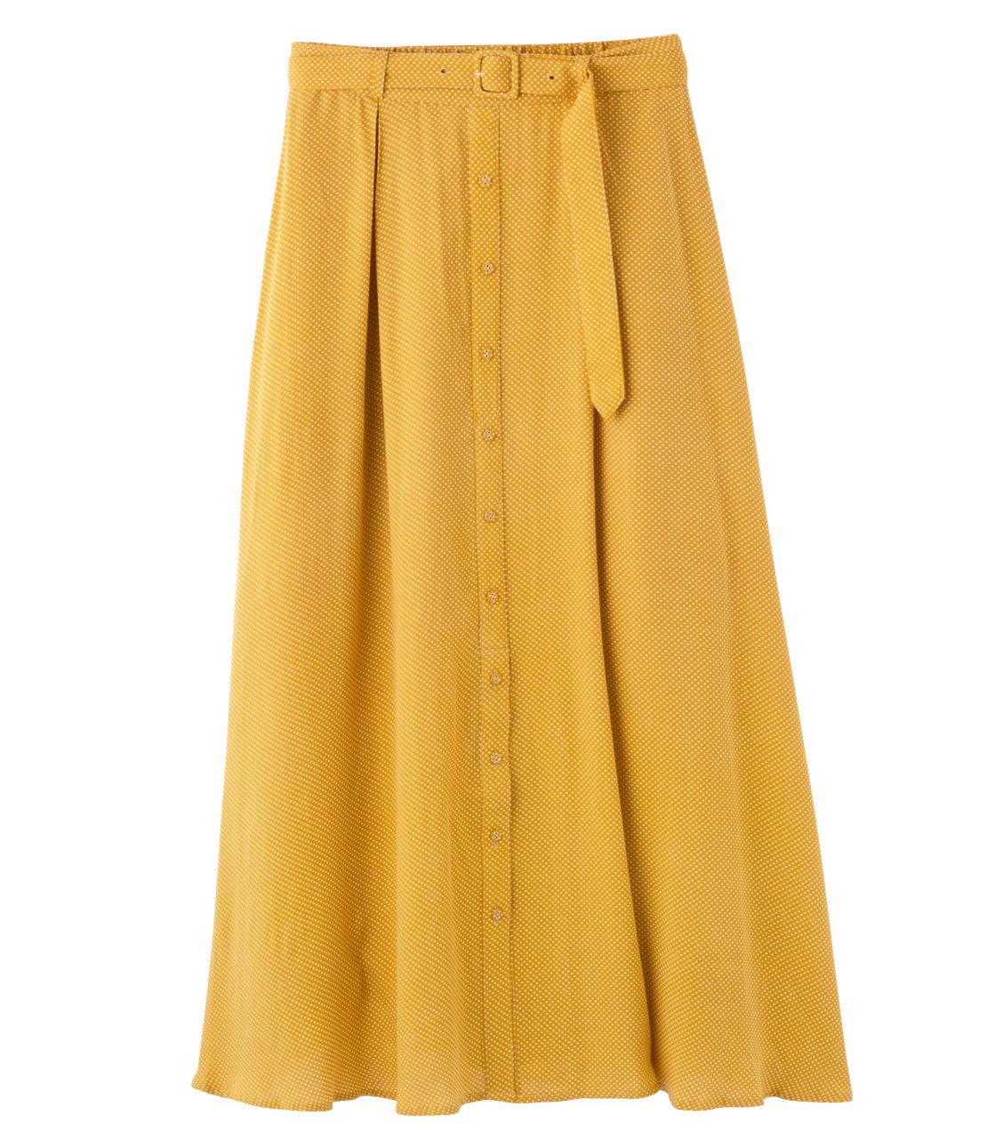 Bell Ted dot long skirts
