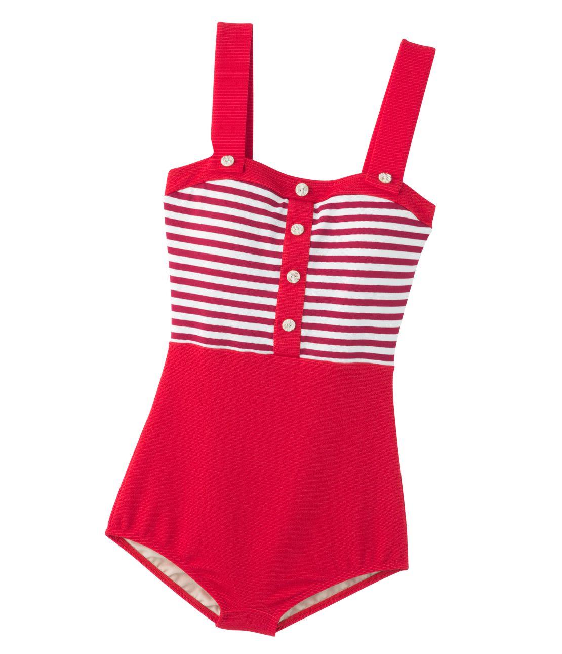 YM復古風格的泳裝